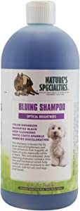 Nature's Specialties Bluing Optical Brightners Shampoo for Dogs Cats, Non-Toxic Biodegradeable