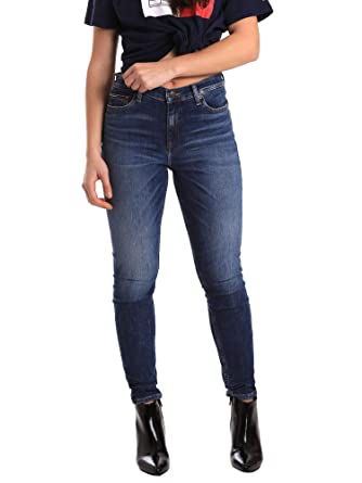 c85ba9b0d4b37 Tommy Hilfiger DW0DW05876 Jeans Femmes  Amazon.fr  Vêtements et accessoires