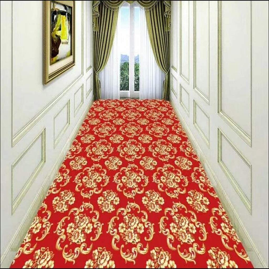 Color : A, Size : 0.98m Mbd Aisle Staircase Carpet Hotel Corridor Entrance Porch Mat Super Soft Full Shop Can Be Customized