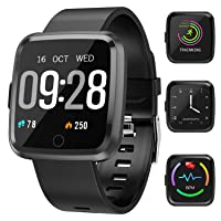 Maypott Fitness Tracker, Smart Watch with Heart Rate Monitor, Activity Tracker Blood...