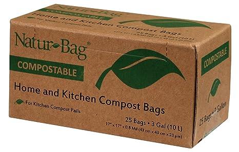 Amazon.com: natur-bag pequeñas bolsas de residuos de ...