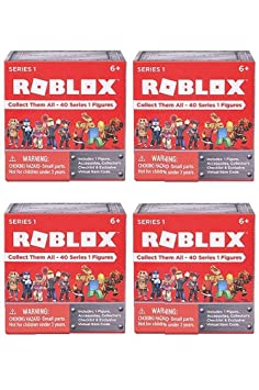 ROBLOX Series 1 action Figure mystery box (SET OF 4 BOXES)