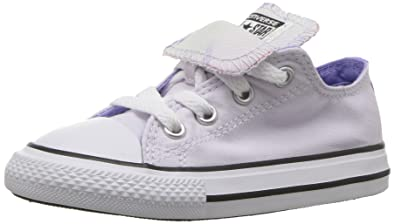 5a74da35e3a5 Converse Girls  Double Tongue Palm Trees Low Top Sneaker