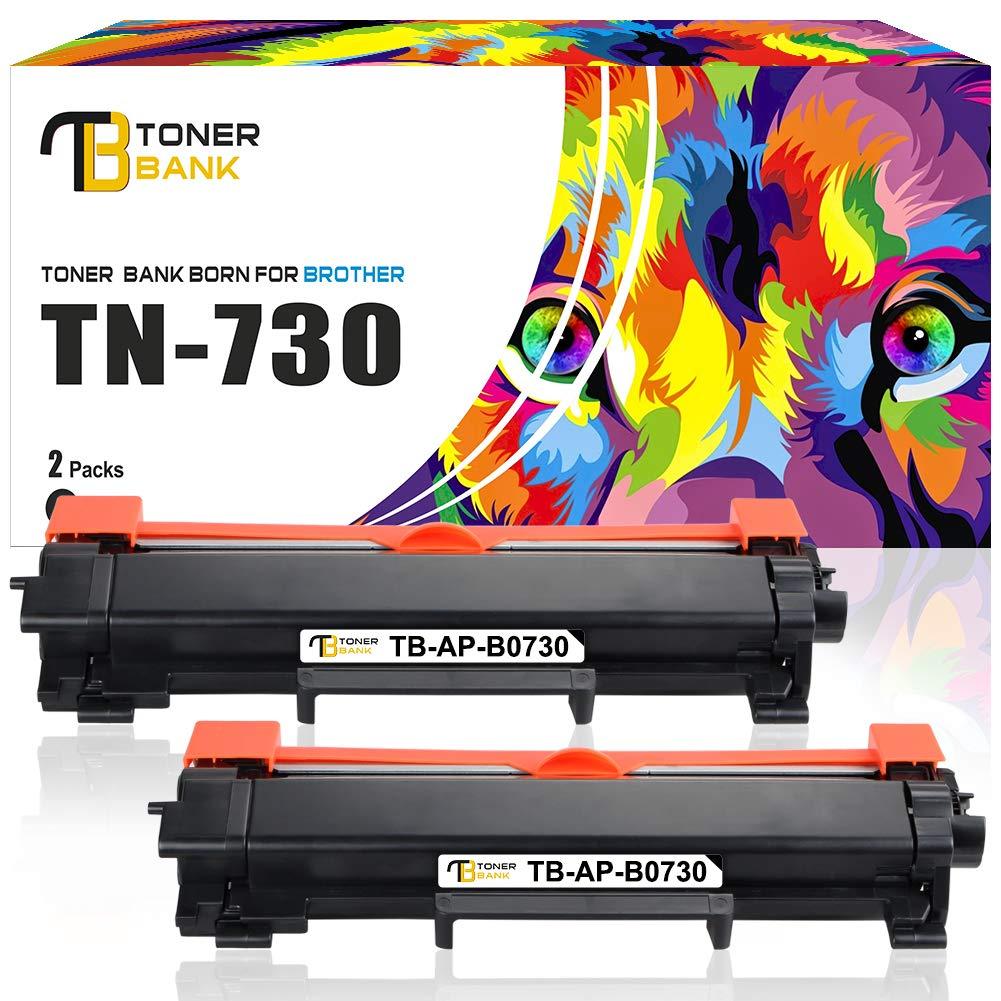 Toner Alternativo ( X2 ) Negro TN730 TN-730 TN760 TN-760 HL-L2370DW MFC-L2710DW HL-L2350DW HL-L2395DW
