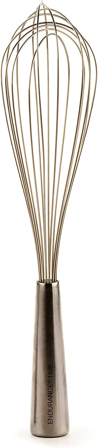 RSVP International Endurance (WSK-12B) Stainless Steel Balloon Whisk, 12"