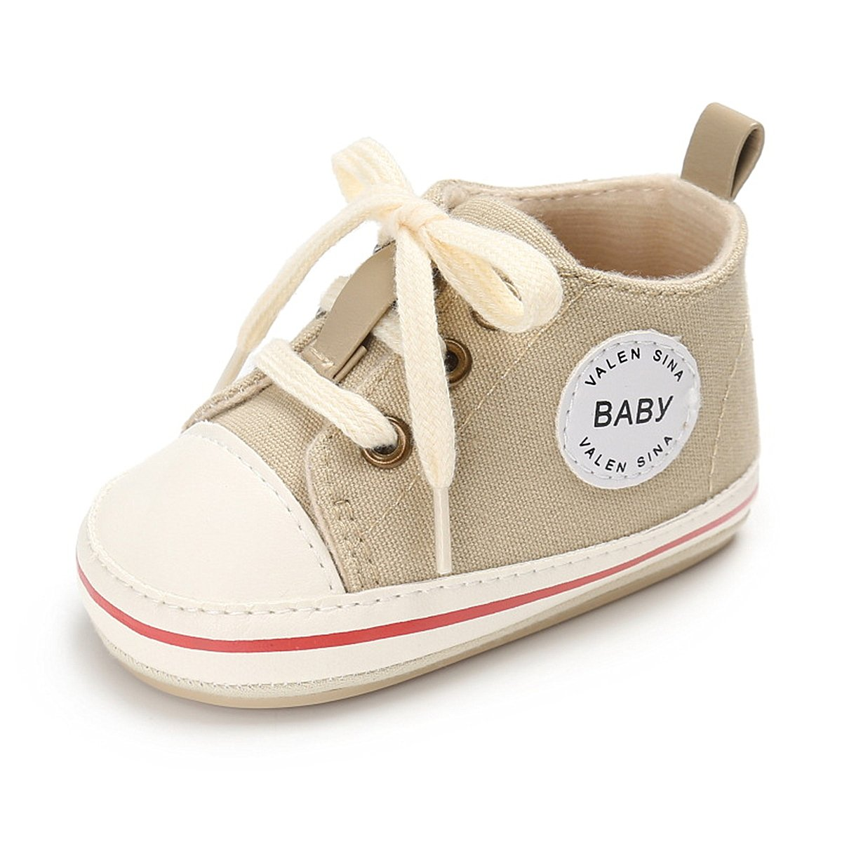 Babycute Infant Boys Girls Soft Sole Anti-Slip Canvas Summer Shoes Soccer Cowboys Classic Casual Sport Sneakers