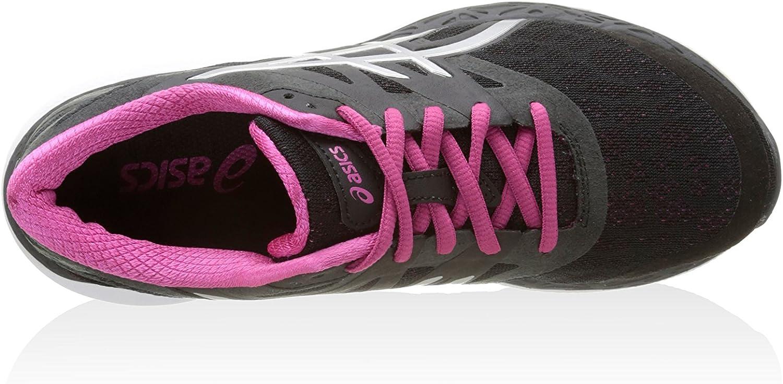Asics Zapatillas Deportivas 33-M Negro/Fucsia/Plata EU 39.5: Amazon.es: Zapatos y complementos