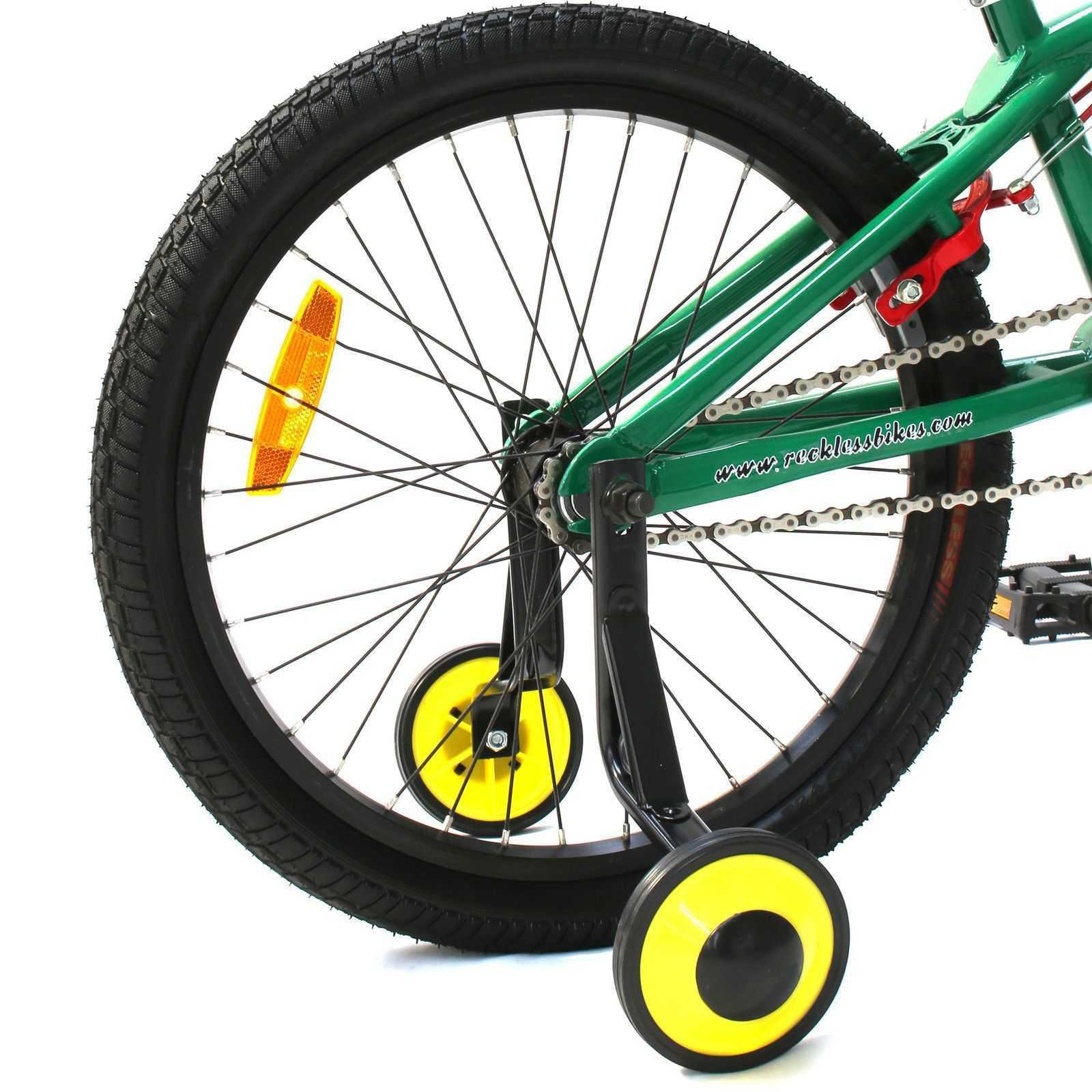 CyclingDeal Kids Bicycle Bike Training Wheels 20''
