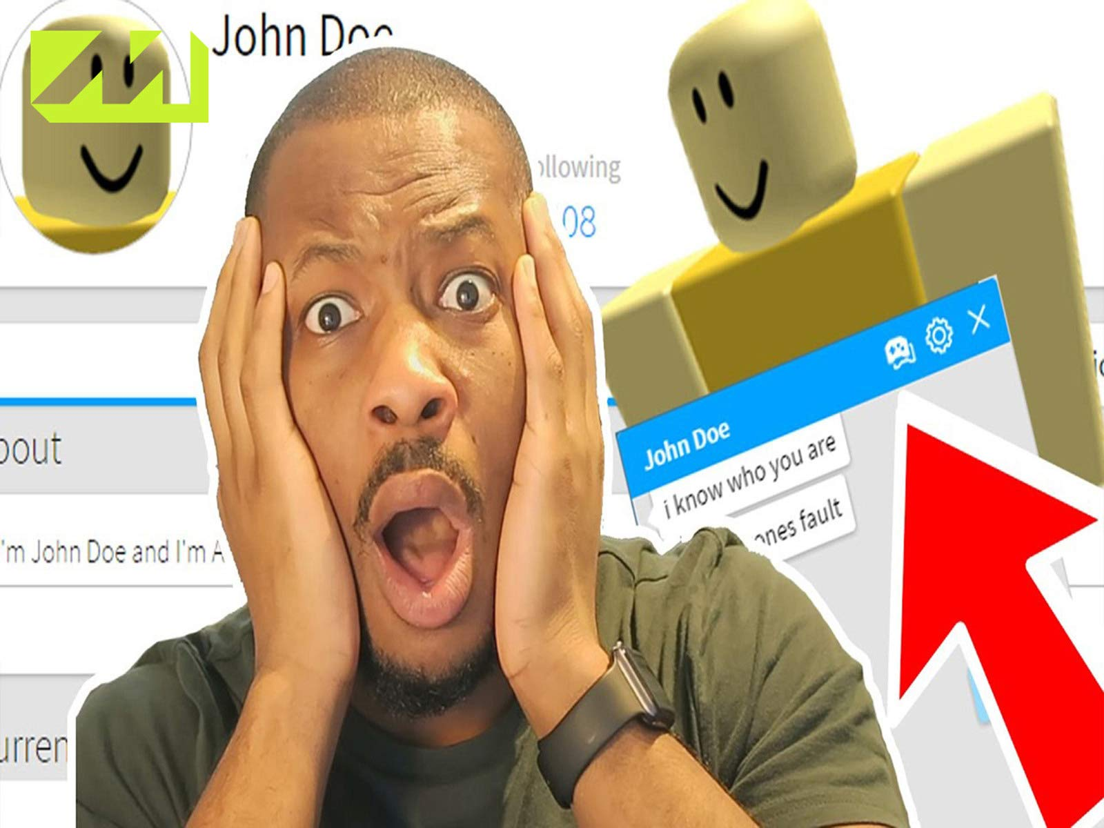 Roblox Hack John Does Account Watch Clip Let S Play Roblox Prime Video