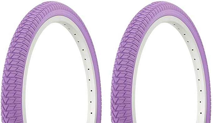 """Tires Wanda 26/"""" x 1.50/"""" Blue//Blue Sidewall G-5013 Heavy Duty Bicycle Tire 2"""
