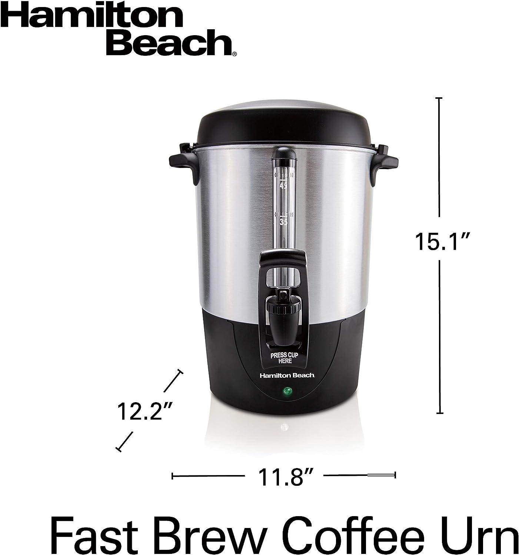 45 Cup Capacity 40521 Renewed Stainless Steel Hamilton Beach Fast ...