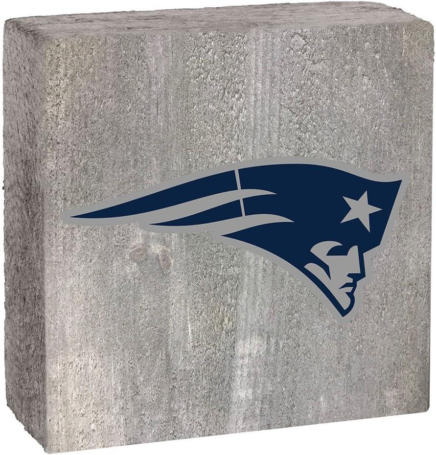 Rustic Marlin Designs NFL Gray Logo Block