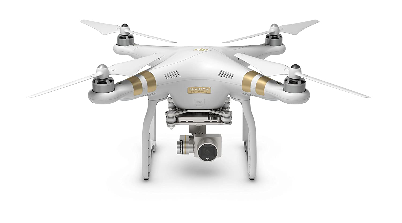 DJI Phantom 3 Professional UAV Aerial Quadrocopter Drohne Mit Integrierter 4K Kamera Und Gimbal Zur Bildstabilisierung