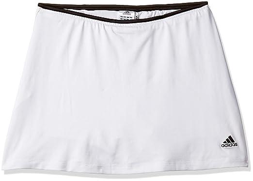 adidas niña Falda de Tenis 3 Rayas sinergia Blanco, niña, Color ...