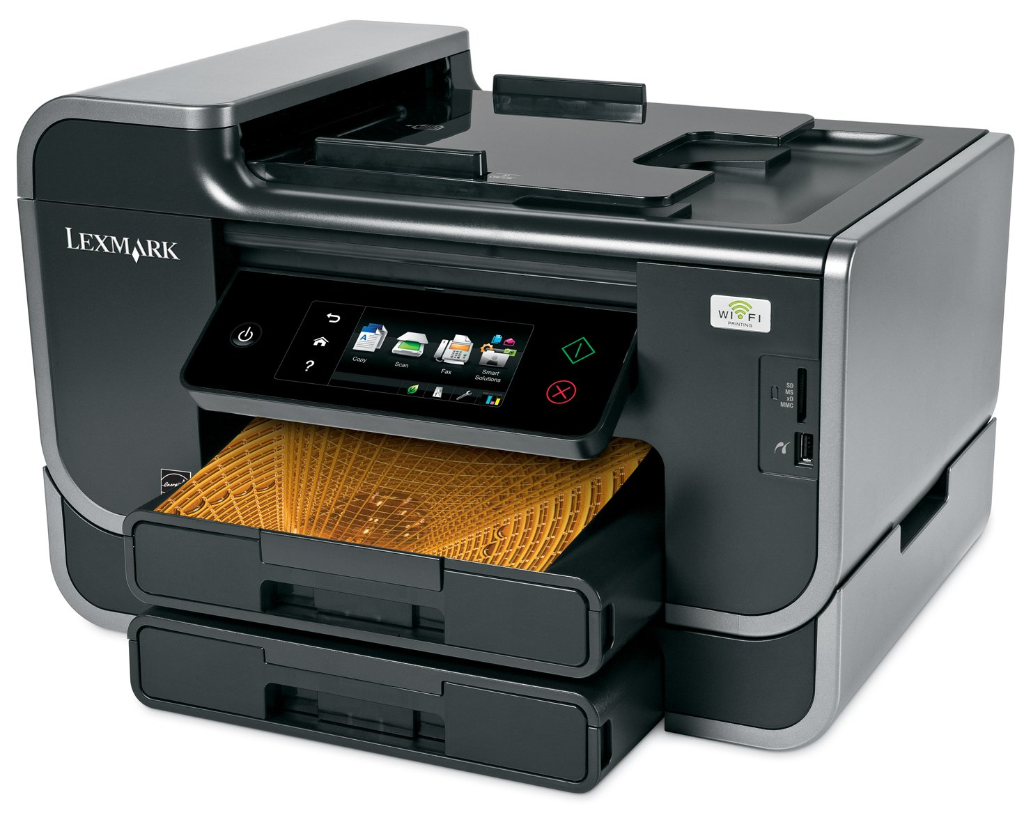 Lexmark Platinum Pro905 Business Class Wireless Multifunction Inkjet Printer with Web-Enabled Touchscreen by Lexmark (Image #2)