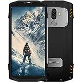 Blackview BV9000 Pro: Robustes Full-HD DUAL-SIM Ourdoor-Smartphone einmaliger 18:9 Full HD 4G Screen Wasser, Staub, Stoßgesichert, 6GB + 128GB, 13+5MP Kamera 4180mAh-Schnelladeakku, Face ID-Silber