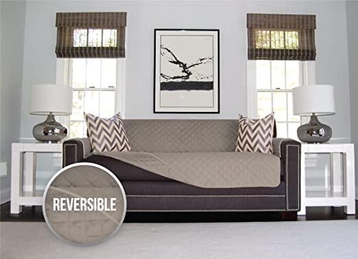 KEEP YOUR SOFA CLEAN WITH THE ORIGINAL REVERSIBLE SOFA SHIELD PROTECTOR