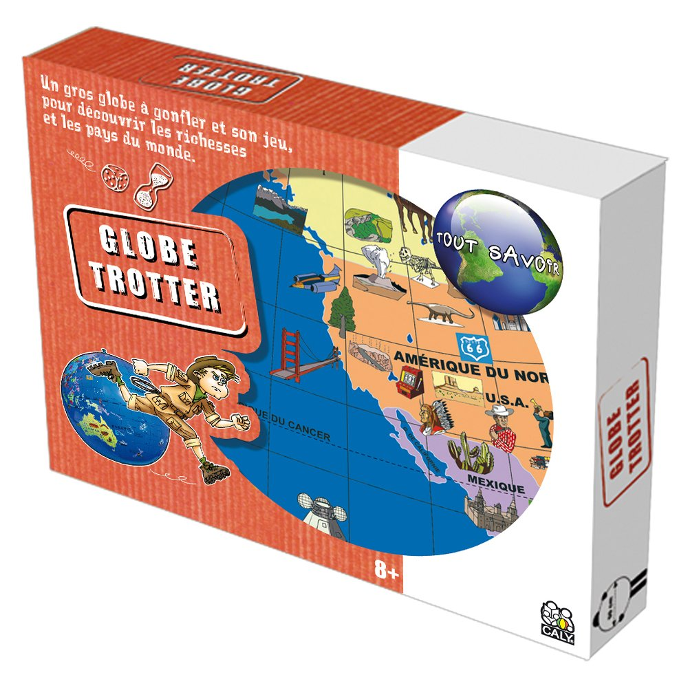 Caly - Globo terráqueo (035F) [Importado de Francia]: Amazon.es: Juguetes y juegos