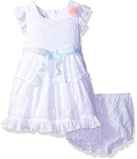 e5118af4c Amazon.com: Red 2 Piece Girls Formal Dress Set Lace and Satin ...