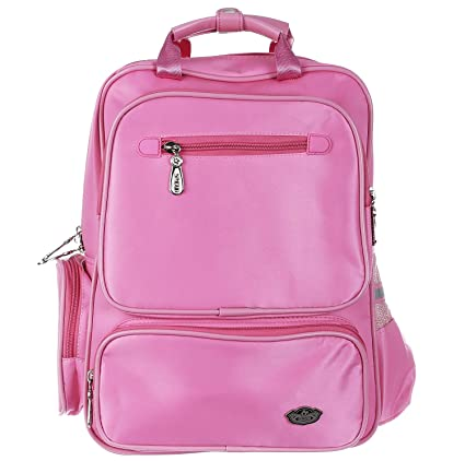 4e677c3e6c66 SMJM   SMXD Polyester Pink Premium Quality School Bag for Kids ...