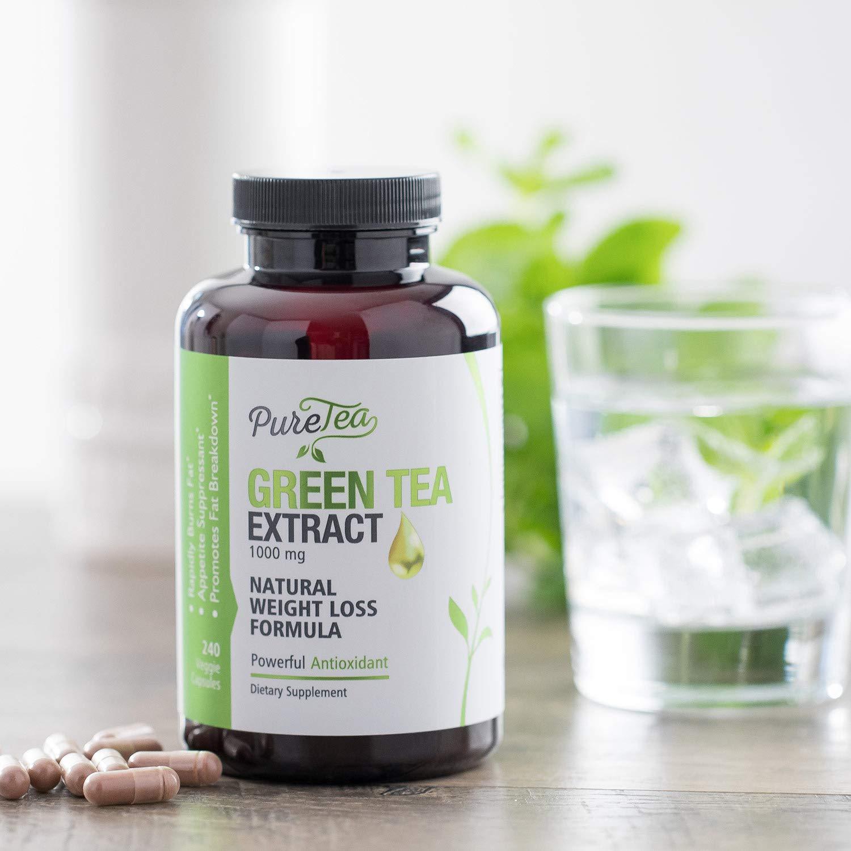 Amazon Com Green Tea Extract Max Potency 98 With Egcg 1000mg For