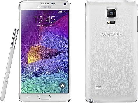 Samsung SM-N910F - Smartphone Libre Galaxy Note 4 Blanco: Amazon.es: Electrónica