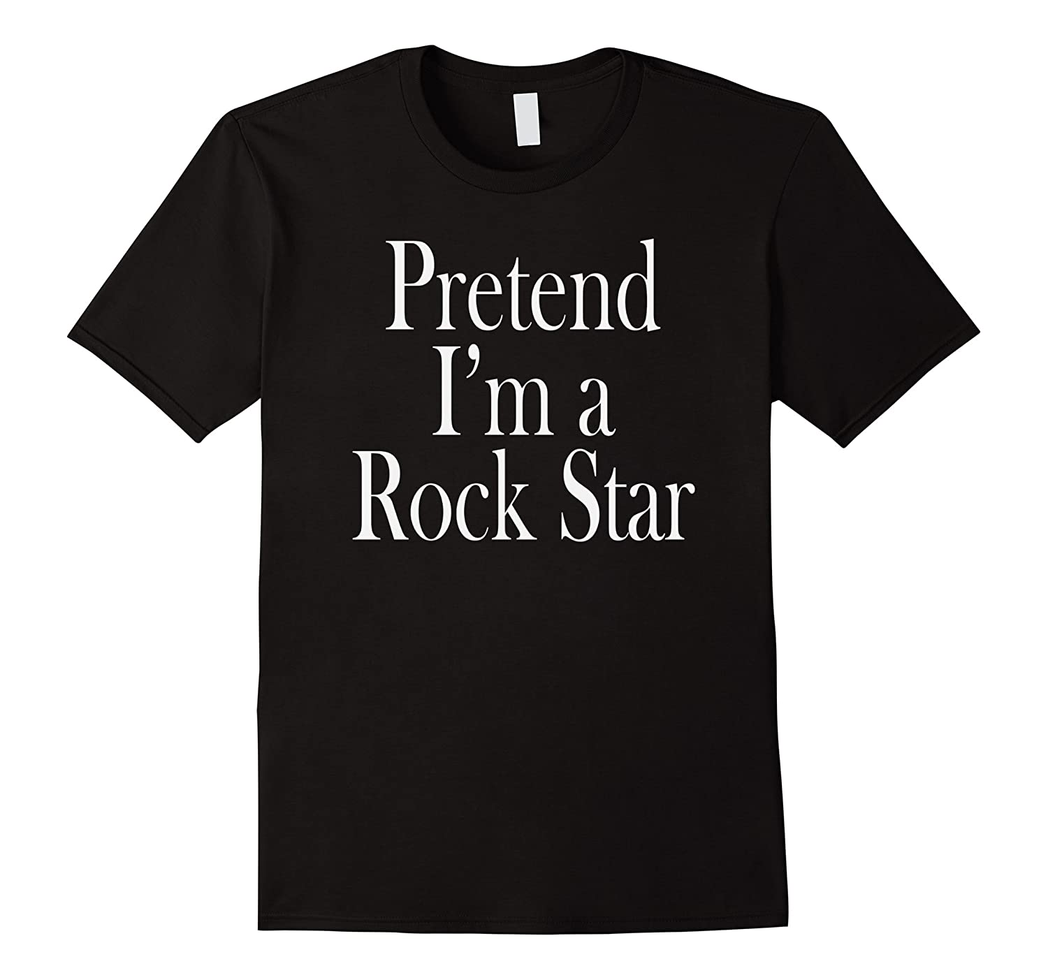 Rock Star Costume T-Shirt for the Last Minute Party-ANZ
