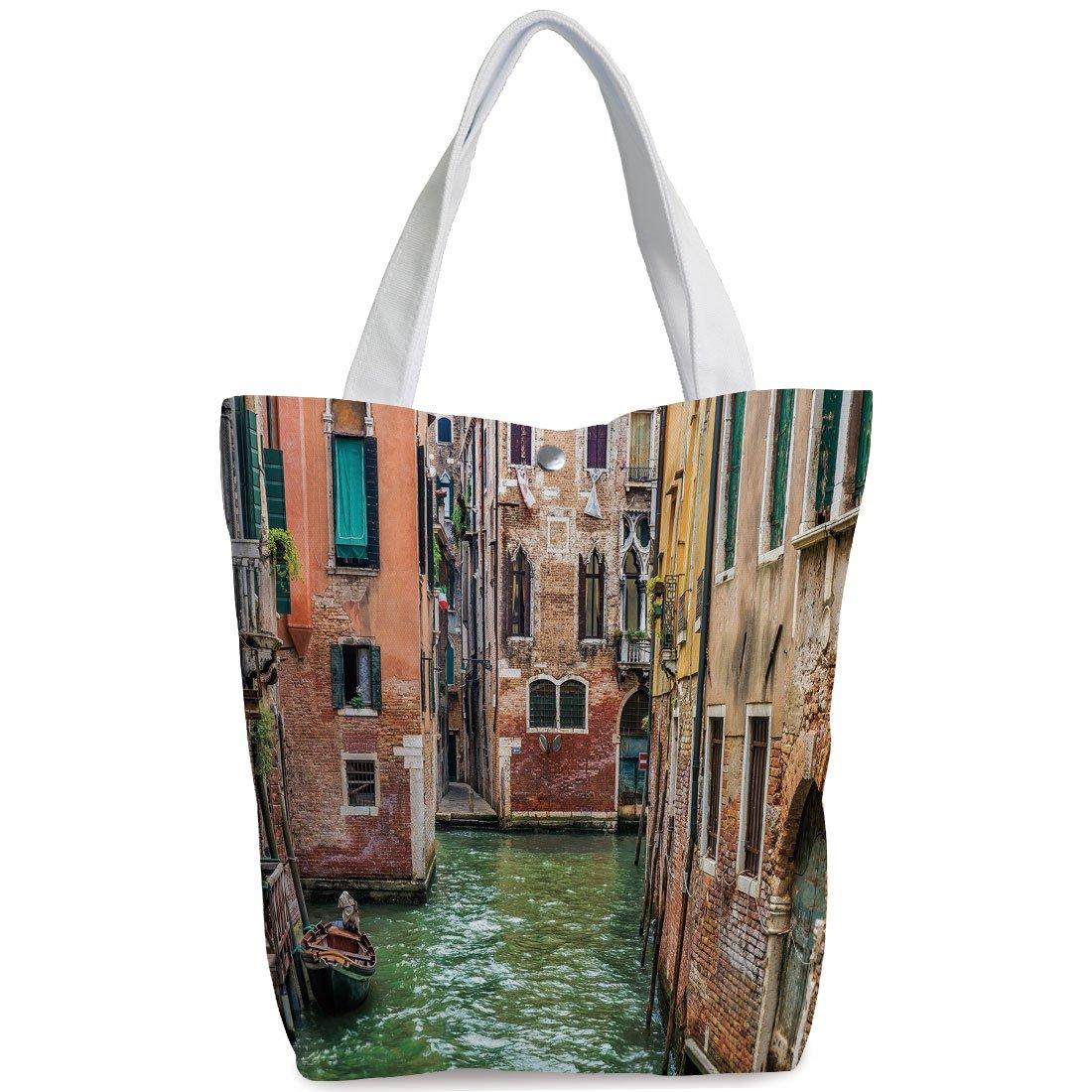 3e7e42bd4e3a Amazon.com  iPrint Canvas Shopping bag