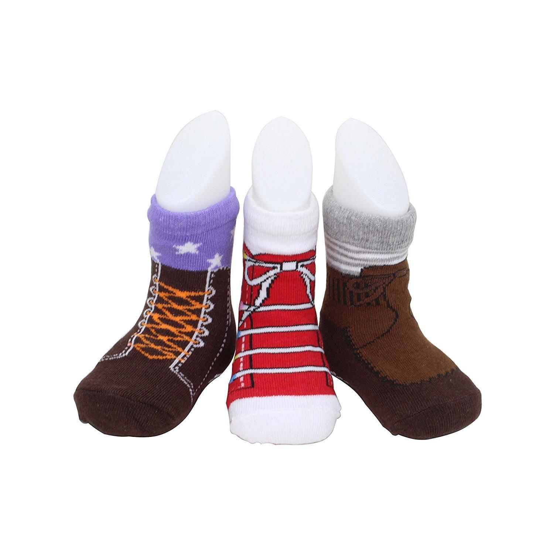 Baby Socks For Toddler Girls Boys With Non Skid Best Gift For 12-24 Months .6 Pairs Anti Slip Socks