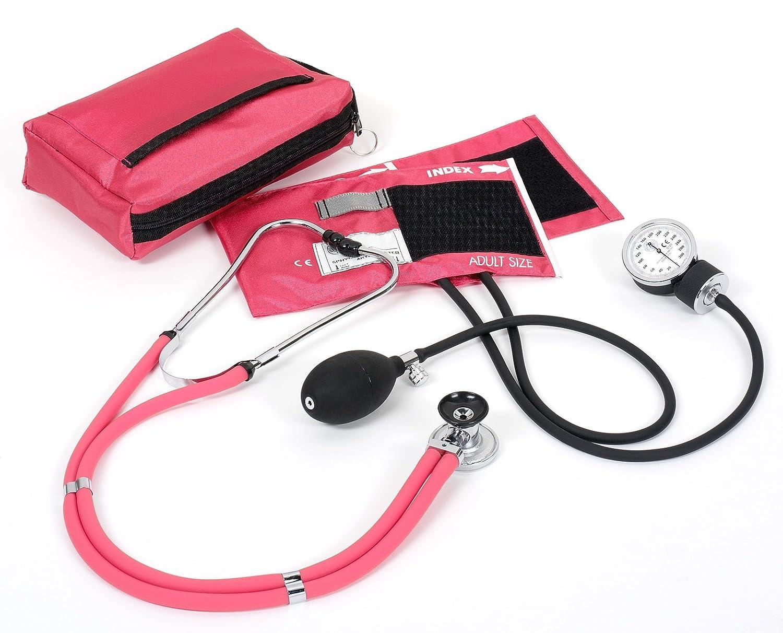 NCD Medical/Prestige Medical A2-PAS - Juego de tensiómetro de brazo y estetoscopio tipo Sprague-Rappaport