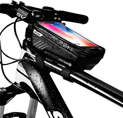 High Quality Mountain Bike Pouch Waterproof Bicycle Front Tube Frame Bag