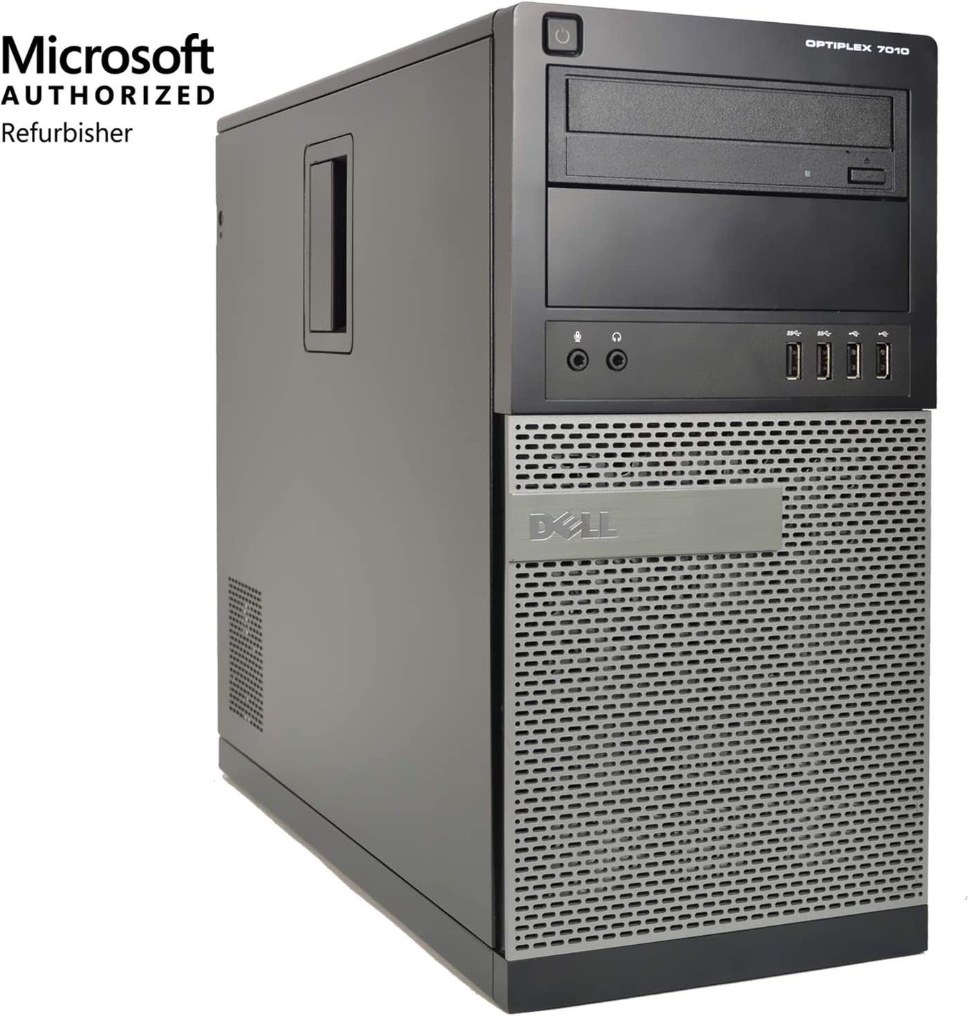 Dell XPS 8920 Desktop – Intel Core i7-7700 7th Generation Quad-Core up to 4.2 GHz, 32GB DDR4 Memory, 8TB SATA Hard Drive, 8GB Nvidia GeForce GTX 1070, DVD Burner, Windows 10 Pro