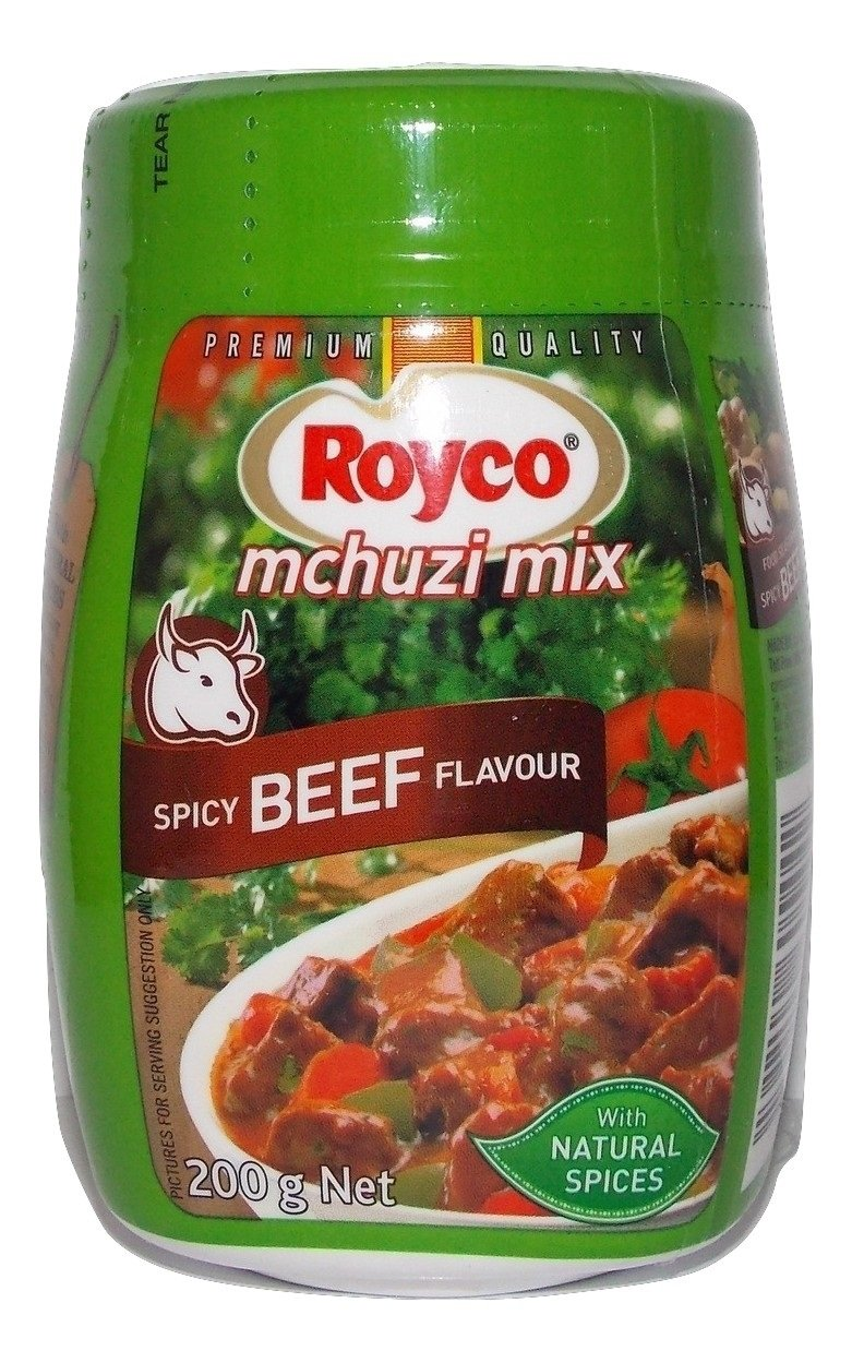 Original Royco Mchuzi Mix Beef Flavor Premium Product From Kenya Beef Flavor Seasoning Beef Seasoning Makes Food Taste And Smell Better For The Tastiest Stew Or Casserole With A Perfect Meaty Flavor