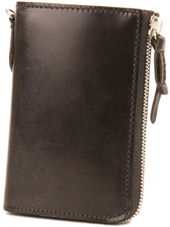 [コルボ] CORBO. -face Bridle Leatherフェイス ブライドルレザー シリーズ L字小銭入れ付き二つ折り財布 1LD-0225 CO-1LD-0225 B004WY98VCダークブラウン