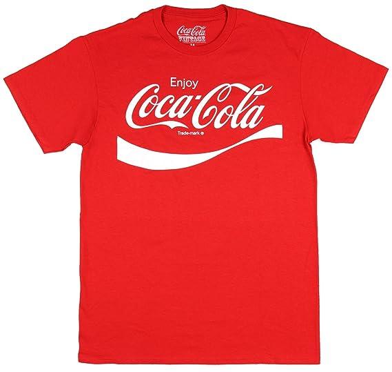 642e8ea4b Amazon.com: Coca Cola Classic Coke Men's Red T-shirt: Clothing