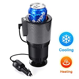 Cooler Warmer Car Cup, Ranipobo Premium 2-in-1 Car Cup Warm & Cool 5L Smart Car Cup Cup Holder 12V Cooler Warmer Smart Car Cup, Radiator Warmer Smart Car Cup