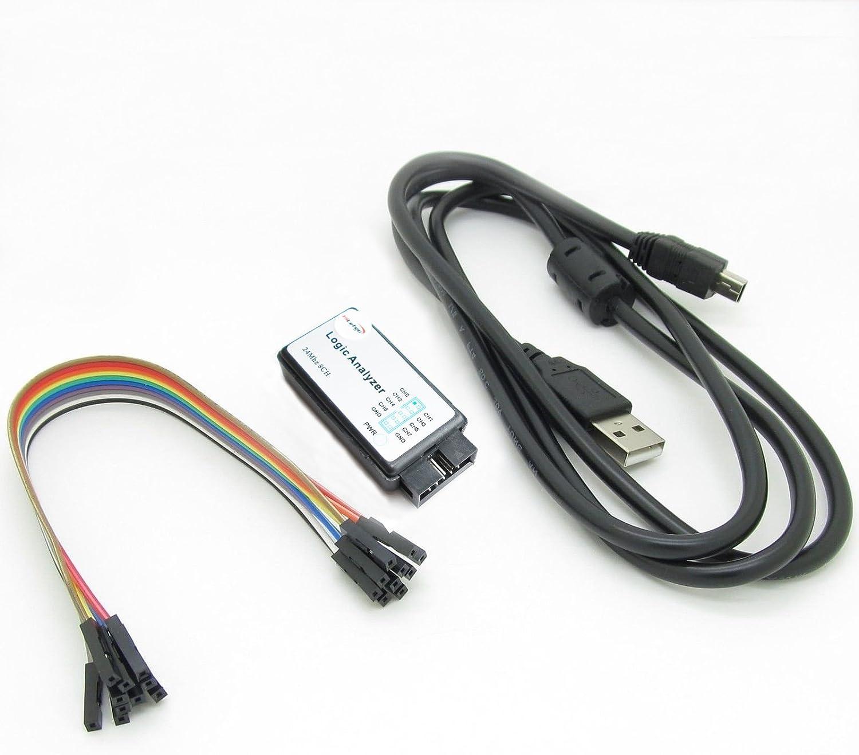 Saleae Logic 4 USB Logic Analyzer Oscilloscope 4x Digital Input 1x Analog Input
