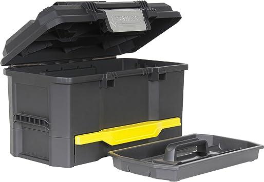 Precisa de un solo toque tarima Stanley caja de herramientas cajón ...