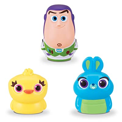 Toy Story Disney Pixar 4 Finger Puppets - 3 Pack - Buzz Lightyear, Bunny, Ducky: Toys & Games
