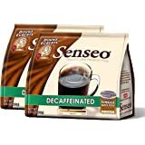 Senseo Decaffeinated Coffee, 18-count Pods (Pack of 2)