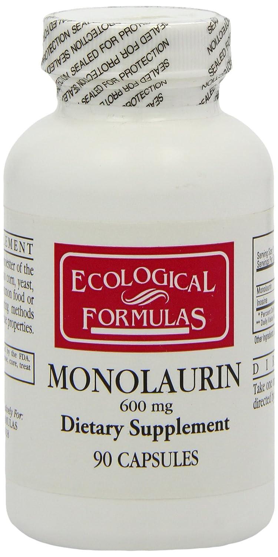 Mua sản phẩm Ecological Formulas Monolaurin Capsules, 600 mg, 90