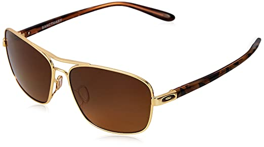 05adeb49b2 Amazon.com  Oakley Women s Sanctuary Sunglasses Gunmetal Black  Clothing