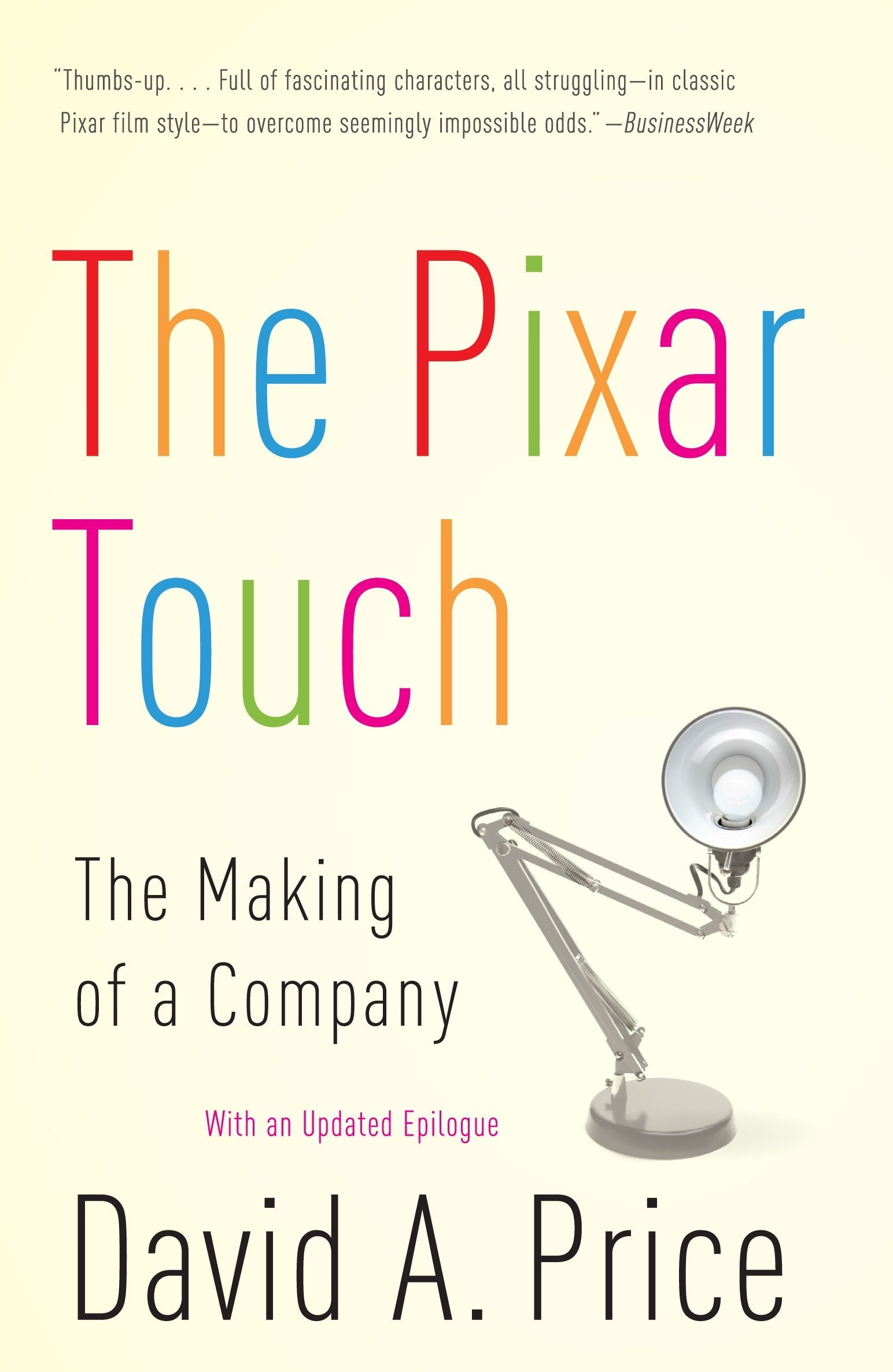 pixar touch chinese edition