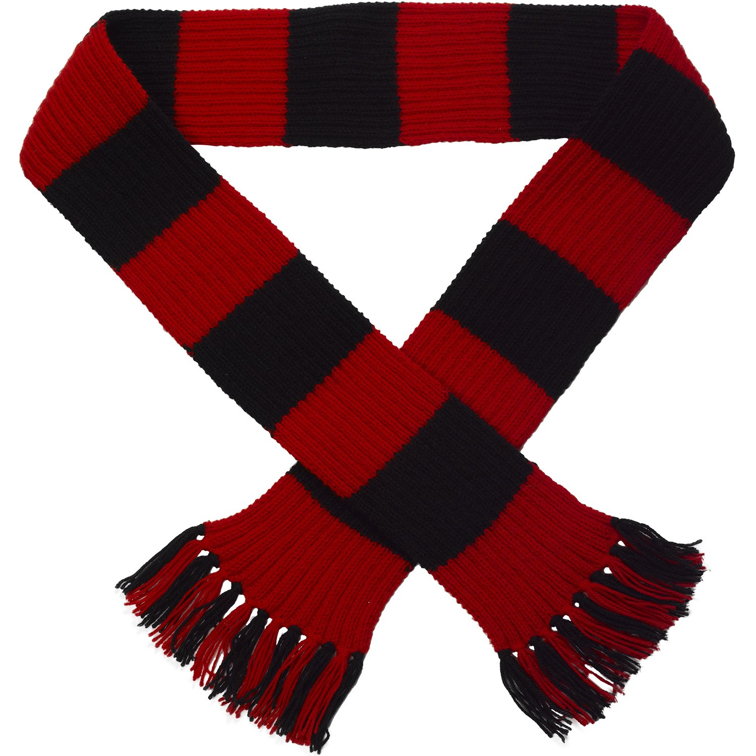 Classic Home Store Striped Football Rugby Scarf Kit Knitting