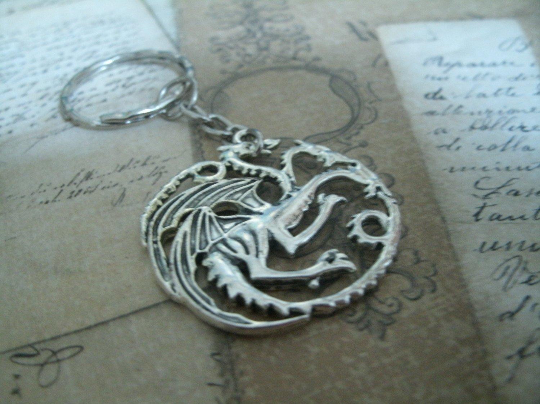 Collar - llavero de la Casa Targaryen Game of Thrones ...