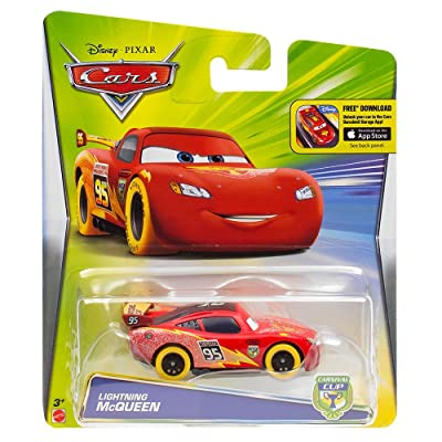 Disney Cars Carnival Cup Lightning McQueen Orange Tires: Toys & Games