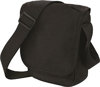 Bag Base rétro Sac de transport Messager à bandoulière Fermeture Éclair à l'avant de voyage Sac à dos 7L Bagbase
