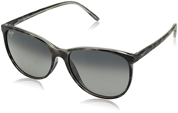 d3ecd095937 Maui Jim Ocean Polarized Sunglasses - Women s Grey Tortoise Stripe Neutral  Grey One Size
