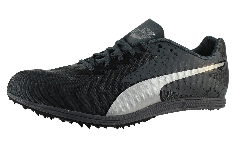 Puma Herren EvoSPEED Distance 7 Spikes Spikeschuhe Laufschuhe Schuhe Schwarz