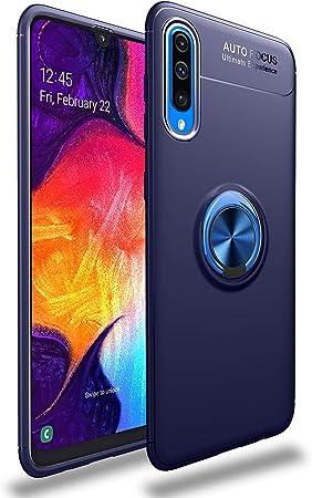 SORAKA Funda para Samsung Galaxy A70 con Anillo Giratorio de 360 ...